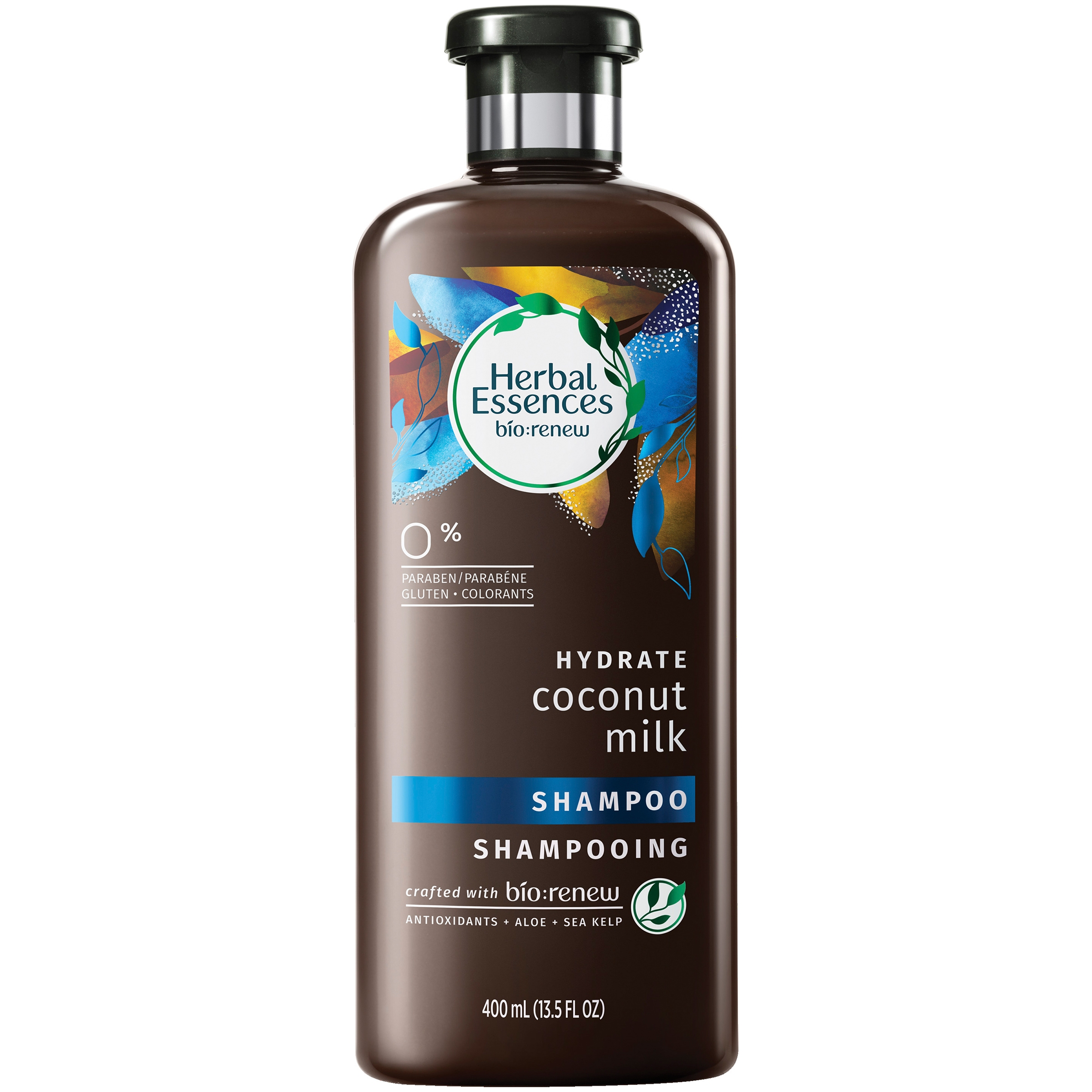 Herbal Essences Bio:Renew Hydrate Coconut Milk Shampoo 13.5 fl. oz. Plastic Bottle