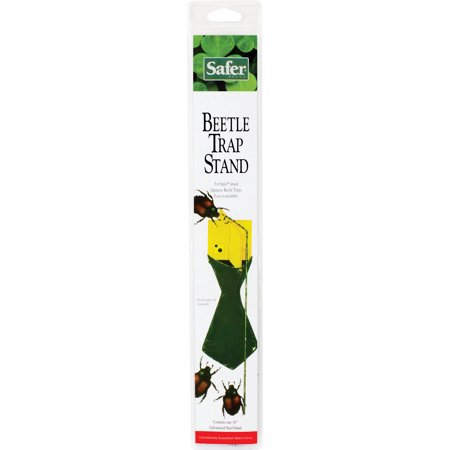 Woodstream Lawn & Grdn D-Safer Japanese Beetle Trap Collapsible Stand- Silver 48 Inches (Case of 12 )