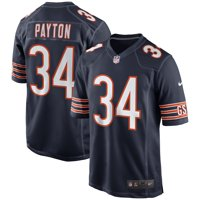 ed67372cad2 Product Image Walter Payton Chicago Bears Nike Retired Player Game Jersey -  Navy