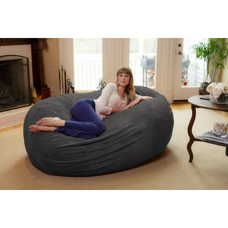 Chill Sack Bean Bag Chair Huge 6 Memory Foam Furniture
