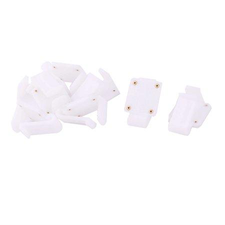 Unique Bargains Outdoor Picnic Plastic Tablecloth Fastener Clips Clamps Cover Holder White 8pcs - image 3 de 3