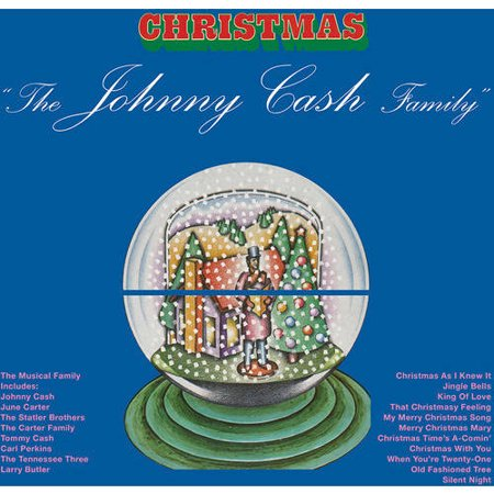 Johnny Cash Family Christmas  Vinyl   Limited Edition