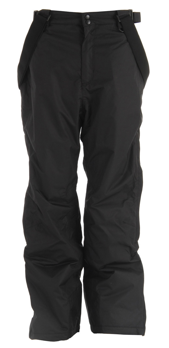Trespass Bezzy Ski Snowboard Pants Black by Trespass