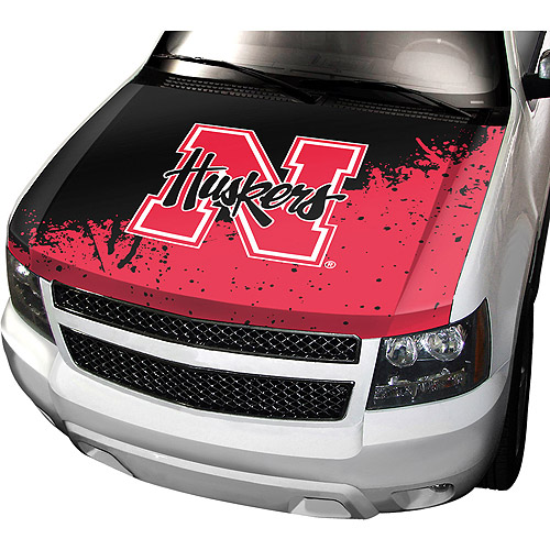 Nebraska NCAA Auto Hood Cover