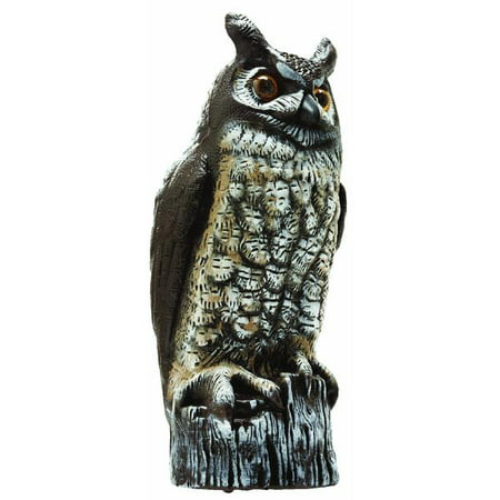 Great Horned Owl Scarecrow Device