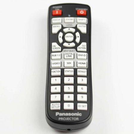 - Panasonic N2QAYA000060 Remote Control for PT-DW750 PT-DX820 PT-DZ780 Projectors