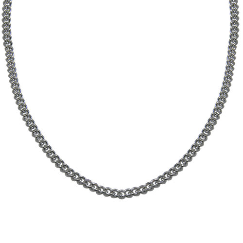 """Stainless Steel Curb Chain, 24"""""""