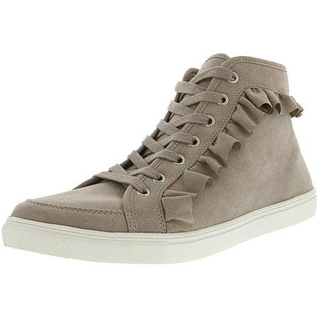 Doe Suede Body - Fergalicious Women's Hope Doe High-Top Suede Fashion Sneaker - 12M