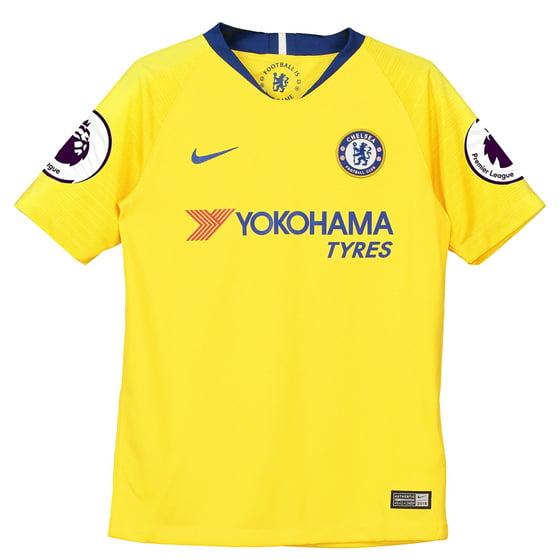 43988c48c0d Nike - Eden Hazard Chelsea Nike Youth 2018/19 Away Stadium Replica ...