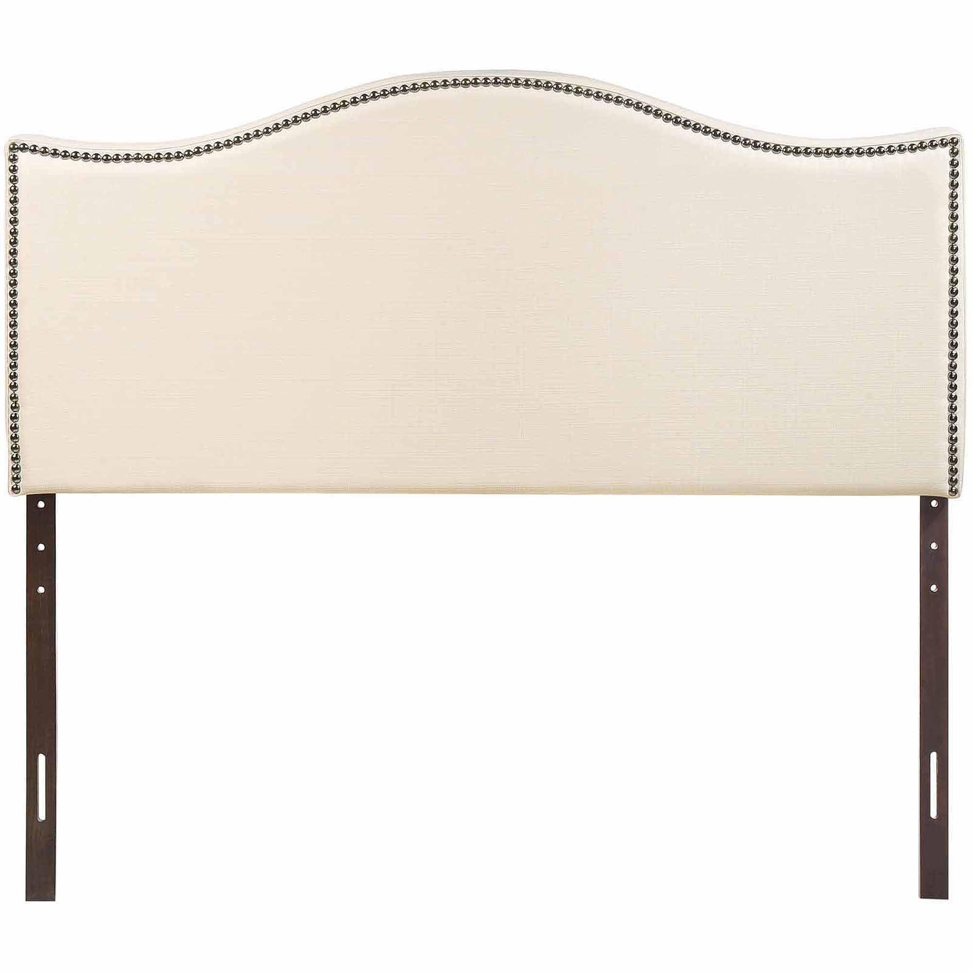 modway curl king nailhead upholstered headboard multiple colors walmartcom