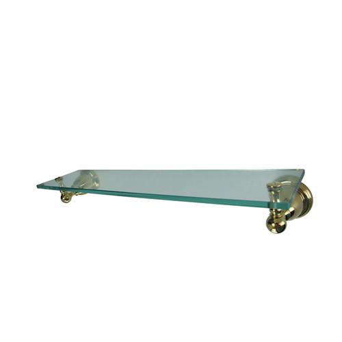 Bathroom Shelf in Polished Brass Finish