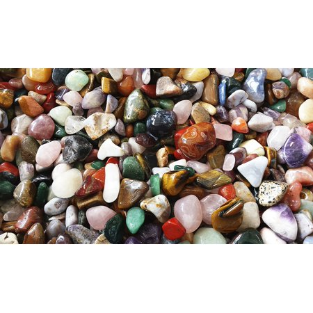 LAMINATED POSTER Colorful Gems Color Deco Stones Poster Print 24 x 36