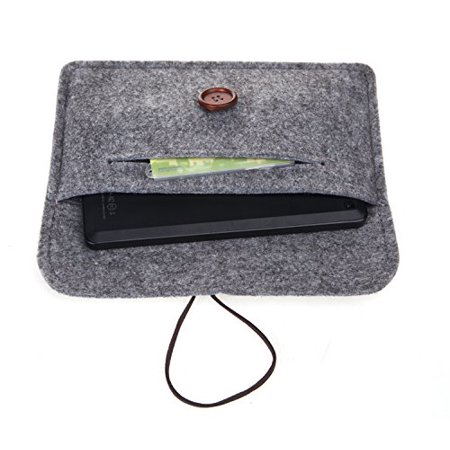 Bear Motion for New Fire HD 6 Tablet - Premium Felt Sleeve Case for Fire HD 6 (Oct 2, 2014 Release) - Gray - image 2 of 2