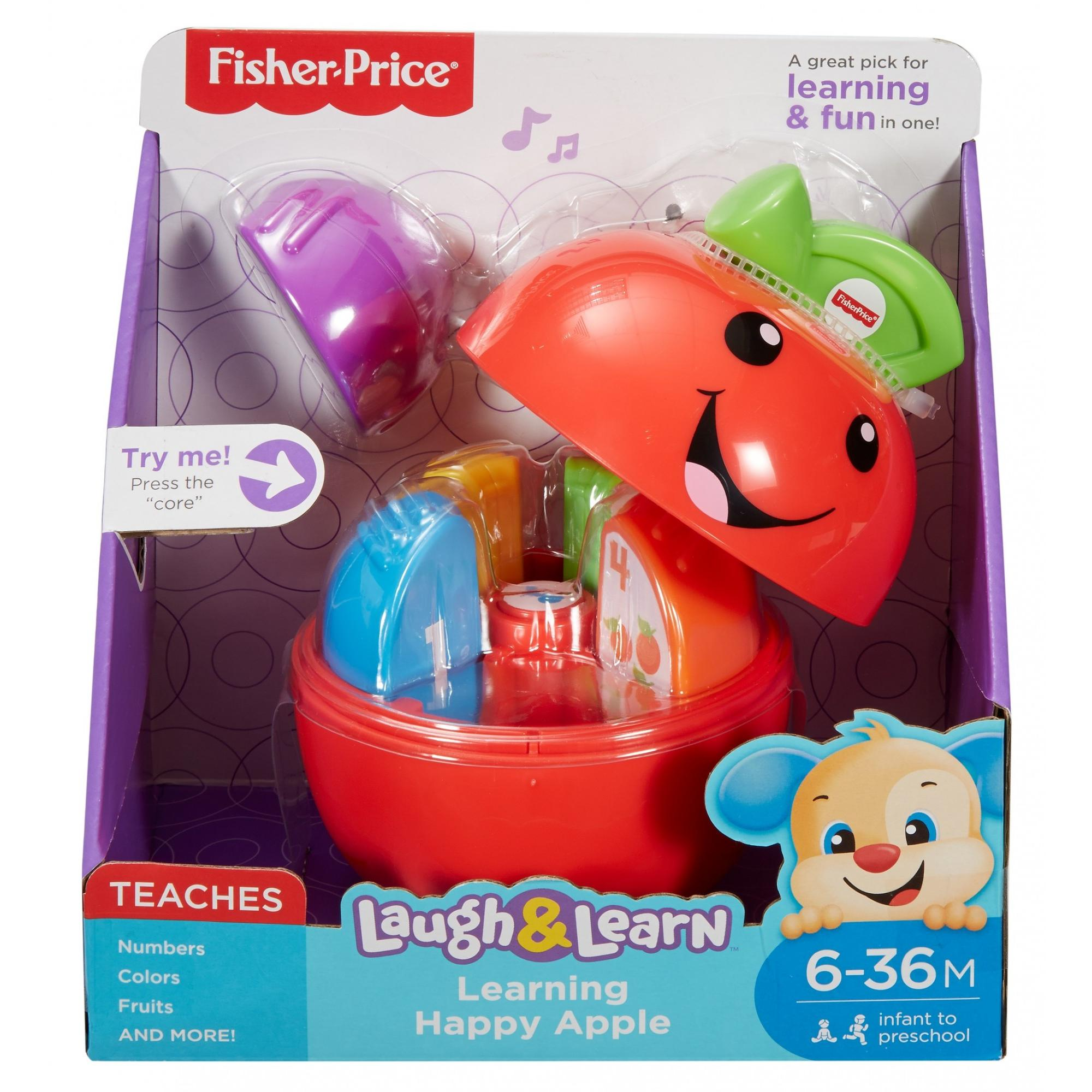 Fisher Price Laugh & Learn Learning Happy Apple Baby Toy