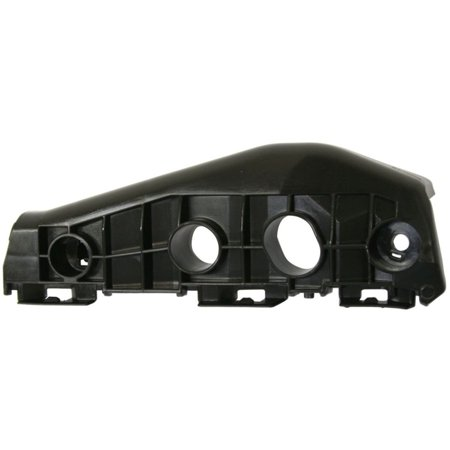 09-10 TOYOTA COROLLA BLACK FRONT BUMPER BRACKET LEFT DRIVER SIDE TO1042110