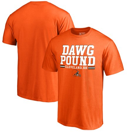 Cleveland Browns NFL Pro Line by Fanatics Branded Big & Tall Dawg Pound Hometown Collection T-Shirt - Orange