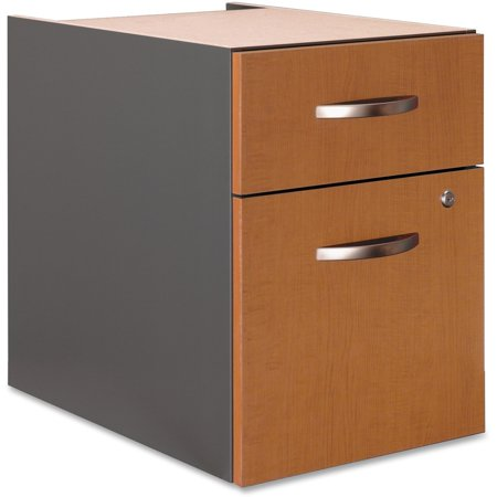 Series C2 Drawer 3/4 Pedestal - Assembled in Natural Cherry