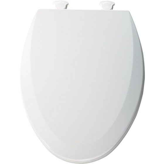 1500ec000 Molded Wood Elongated Toilet Seat With Easy Clean And Change Hinge White 1100ec000 Upgrade Hinges 1800ec000 Stae