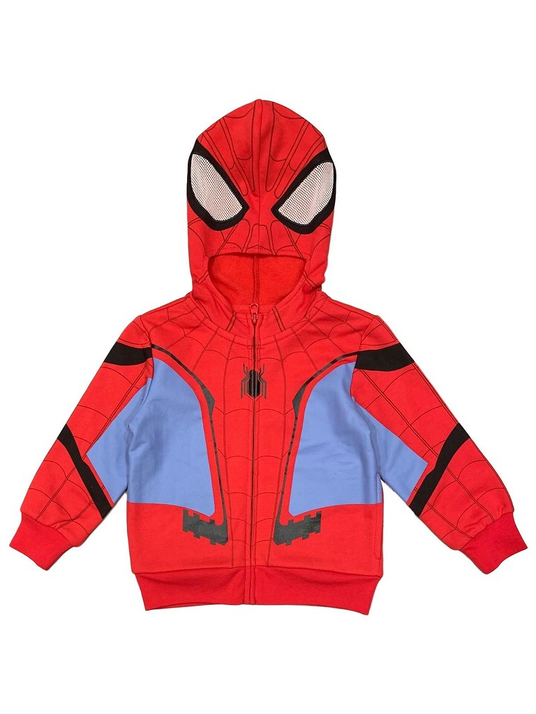 Marvel Boys Spider-Man Deck The Walls Sweatshirt