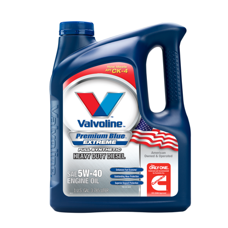 Valvoline™ Premium Blue Extreme™ Full Synthetic SAE 5W-40 Diesel Engine Oil - 1