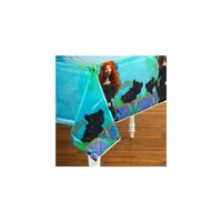 Princess Merida Brave Plastic Tablecover Cover Table Cloth Tablecloth