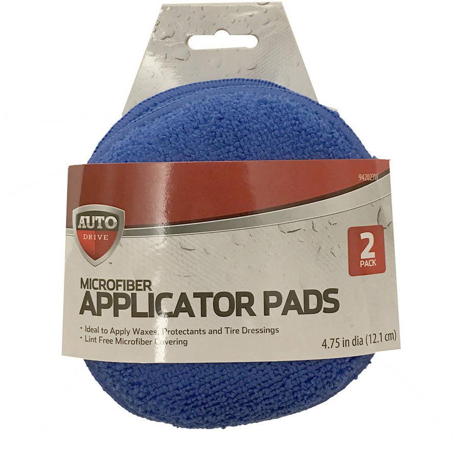 Microfiber Wax Applicator Pads, Blue