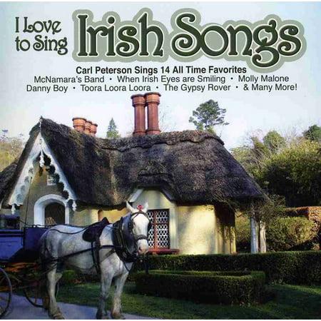 I Love To Sing Irish Song