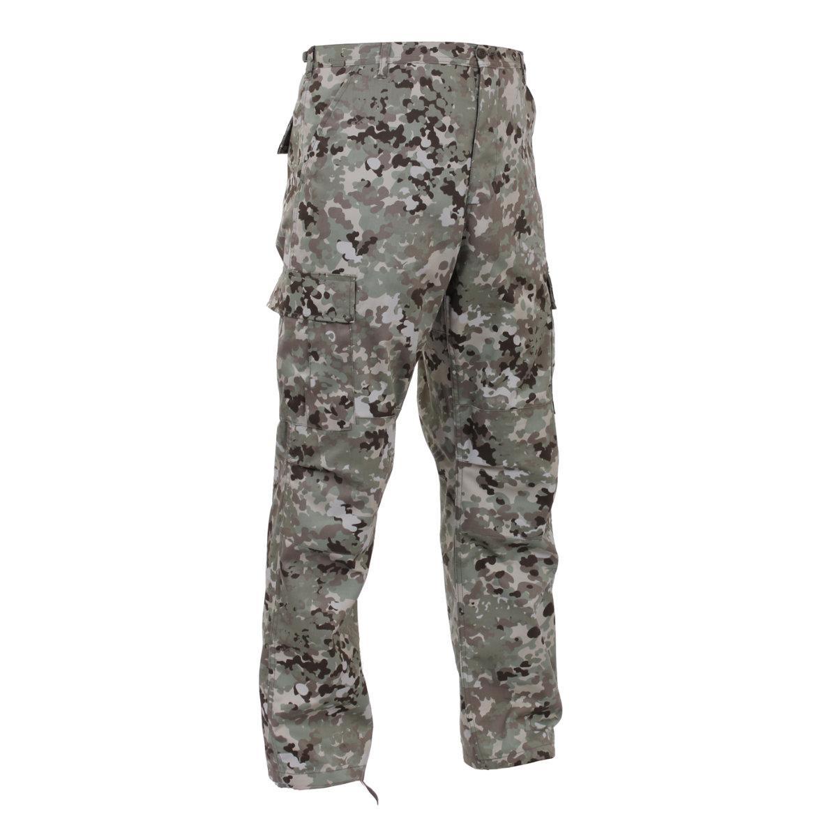 Total Terrain Camo BDU Pants, Military Fatigues by Rothco