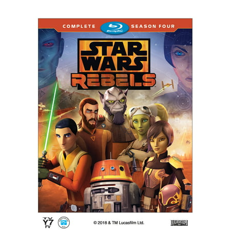 Star Wars: Rebels - Complete Season Four (Blu-ray)