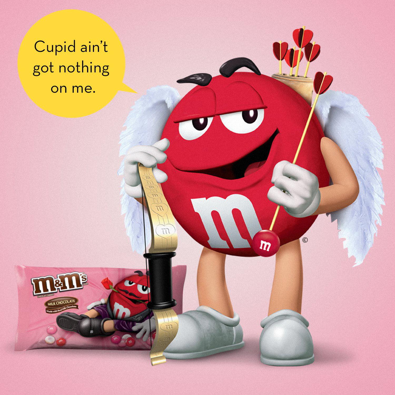 Mars M M S Valentine S Day Milk Chocolate Candy 11 4 Oz Walmart Com Walmart Com