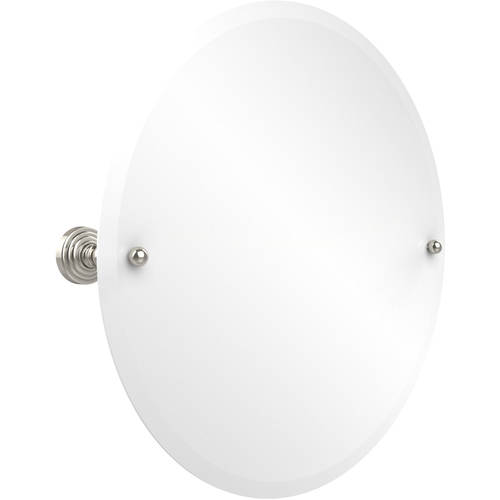 Frameless Round Tilt Mirror with Beveled Edge (Build to Order)