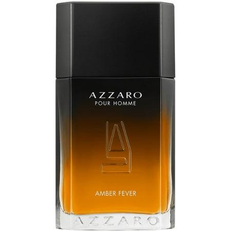 Azzaro Pour Homme, Amber Fever Eau De Toilette 3.4 oz