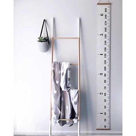Raleighsee Hanging Growth Chart Height Measurement Chart for Baby, Measures From Birth to Adult Best Decor of The Child's