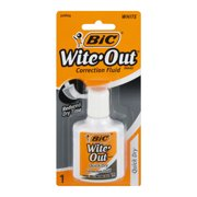 Bic Wite-Out Quick Dry Correction Fluid-0.7 Oz 1 Pk