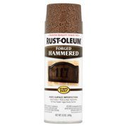 Rust-Oleum Stops Rust Chestnut Forged Hammered Spray, 12 oz