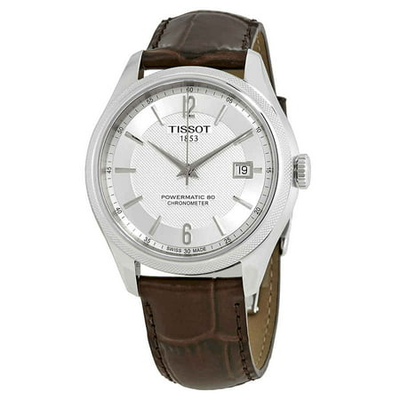 Markers Automatic Chronometer - Tissot Ballade Automatic Chronometer Silver Dial Men's Watch T108.408.16.037.00