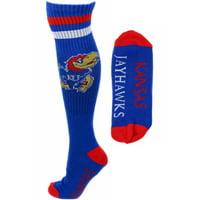 Kansas Jayhawks Blue Tube Socks