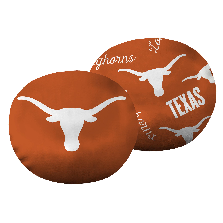"NCAA Texas Longhorns 11"" Cloud Pillow, 1 Each"