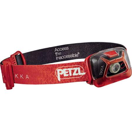 Petzl TIKKA Headlamp 200 Lumens Red