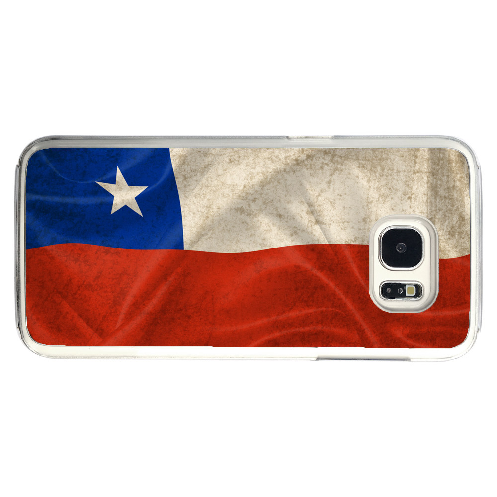 Chile Chilean Flag Samsung Galaxy S7 Edge Phone Case by Mad Marble