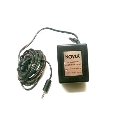 Ac Dc Adapter 9Volts Dc   100Ma 2 5Mm Sub Mini Plug  Ac Dc Adapter By Novus