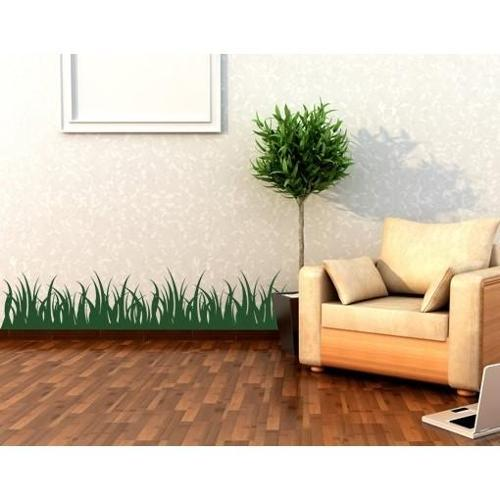 Style and Apply Grass Wall Decal