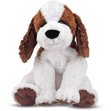 Melissa & Doug Bailey St. Bernard, Stuffed Animal Puppy Dog, 10.5