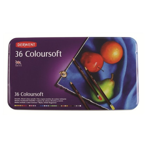 Derwent 0701028 Colorsoft Pencil 36-Color Set