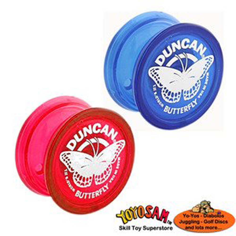 Duncan Butterfly Yo-Yo 2-pack (assorted colors)