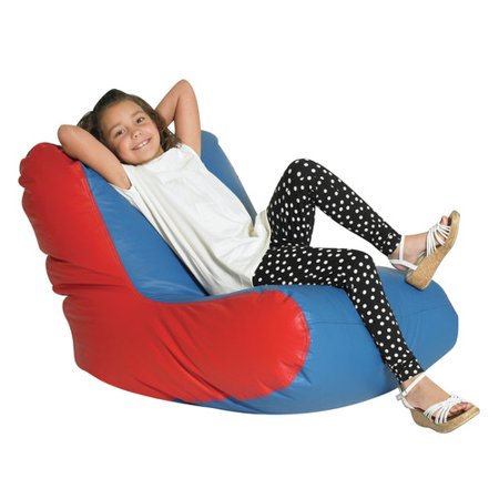 Childrens Child Bean Bag Chaise Lounge Product Picture