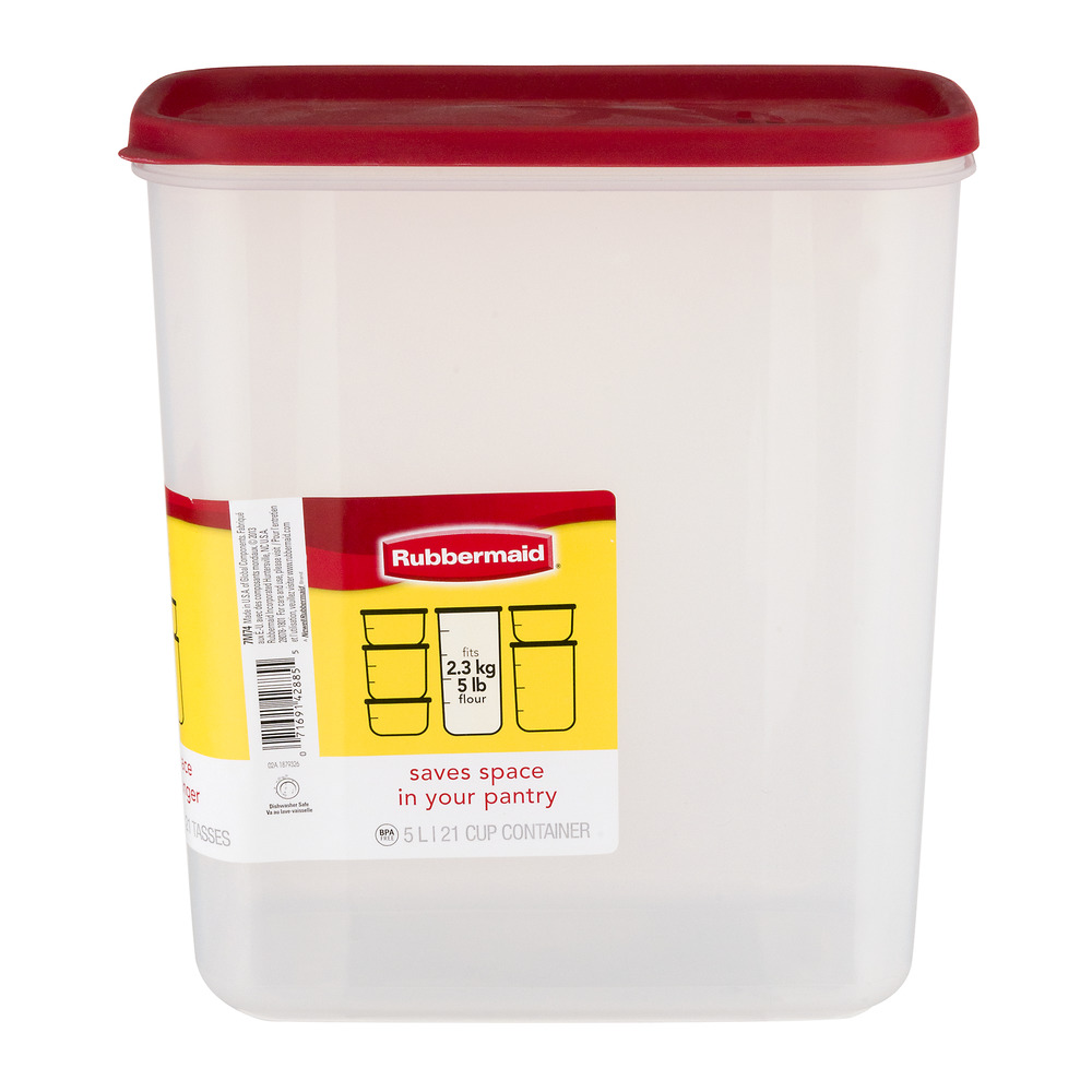 Rubbermaid Modular Canisters - 21 Cups, 1.0 CT