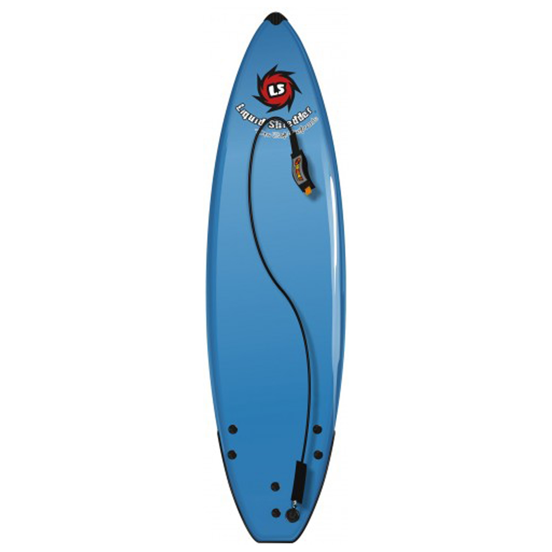 "Liquid Shredder Element 5'0"" Hybrid Soft Surfboard - Pink"