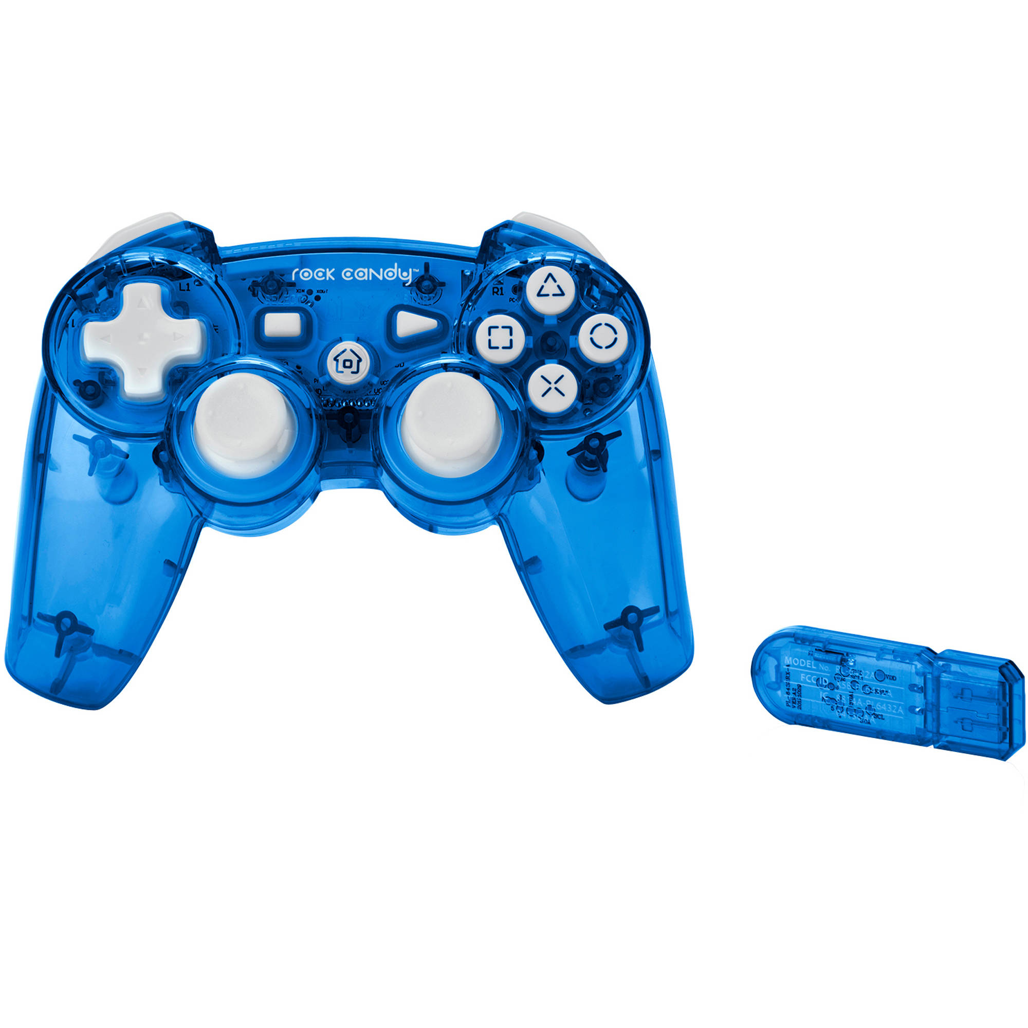 Rock Candy Wireless Controller, Blue (PS3)