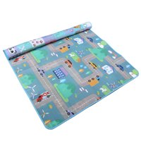 79 x 71 Inches Extra Large Baby Crawling Mat Non Toxic Baby Play Mat Game